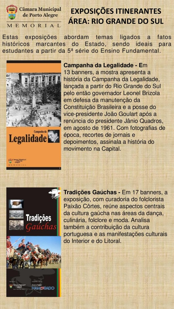 Exposições Itinerantes Página CMPA - RIO GRANDE DO SUL-page-001